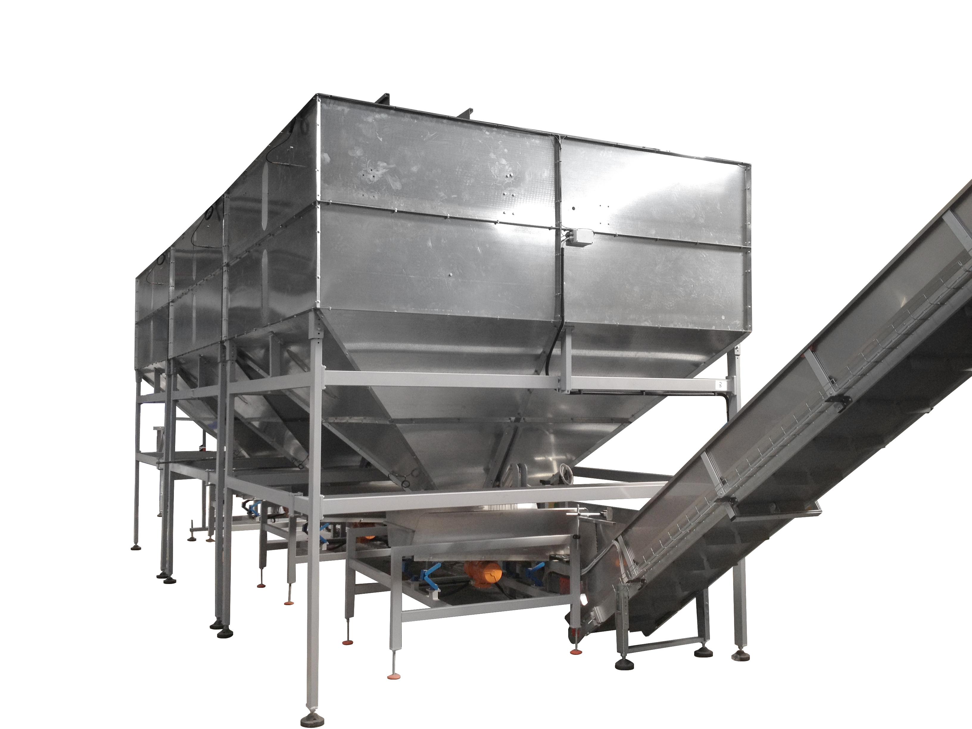 FV-Schüttgut-Behälter-PET-Verarbeitung